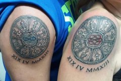 Vilinski krog - tattoo