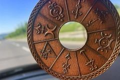 Vilinski krog - v avtu