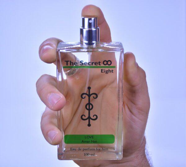 Moški parfum the secret eight - Ljubezen